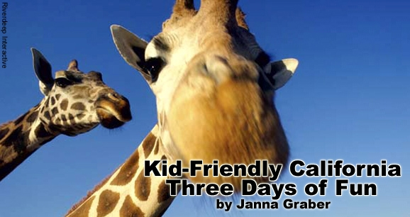 Kid-Friendly California: Three Days of Fun
